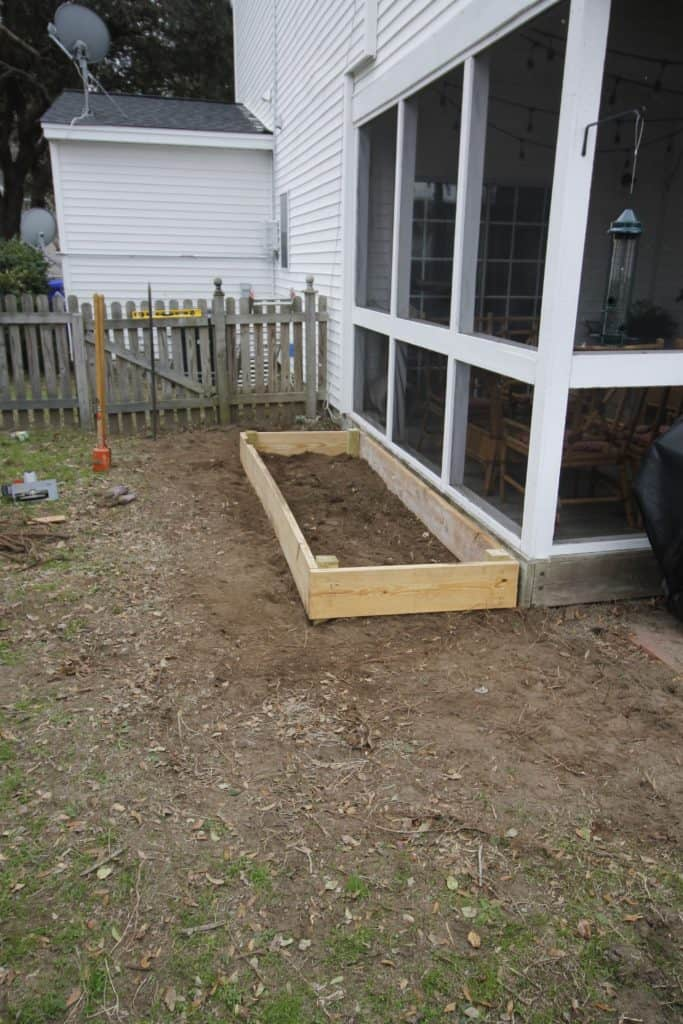 DIY Raised Bed Garden - Charleston Crafted