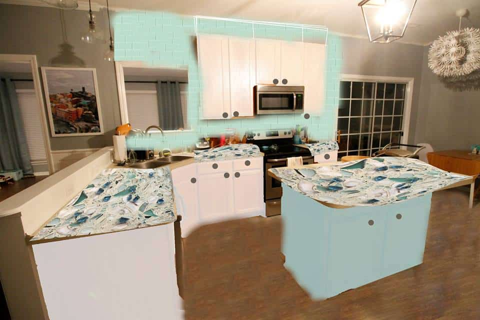 Coastal Kitchen Updates: Option 1 - Charleston Crafted
