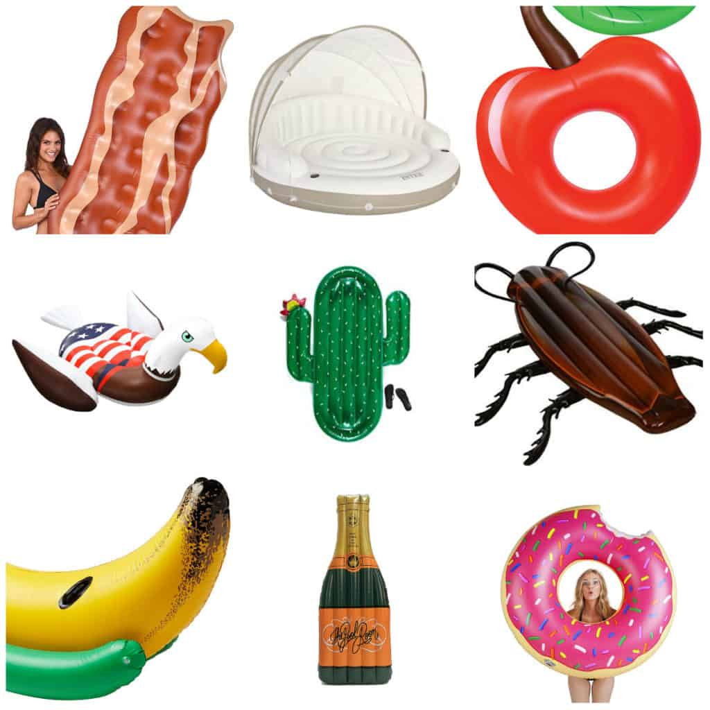 45 fun inflatable pool floats for summer via Amazon Prime - Charleston Crafted