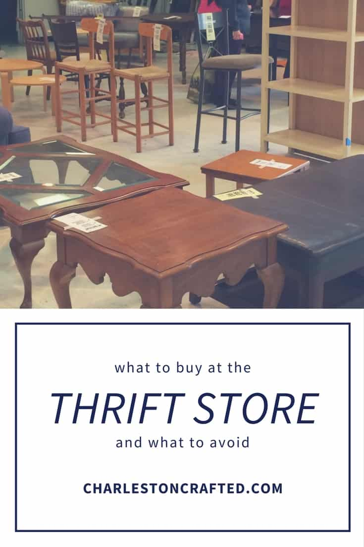 What to Thrift & What Not to Thrift
