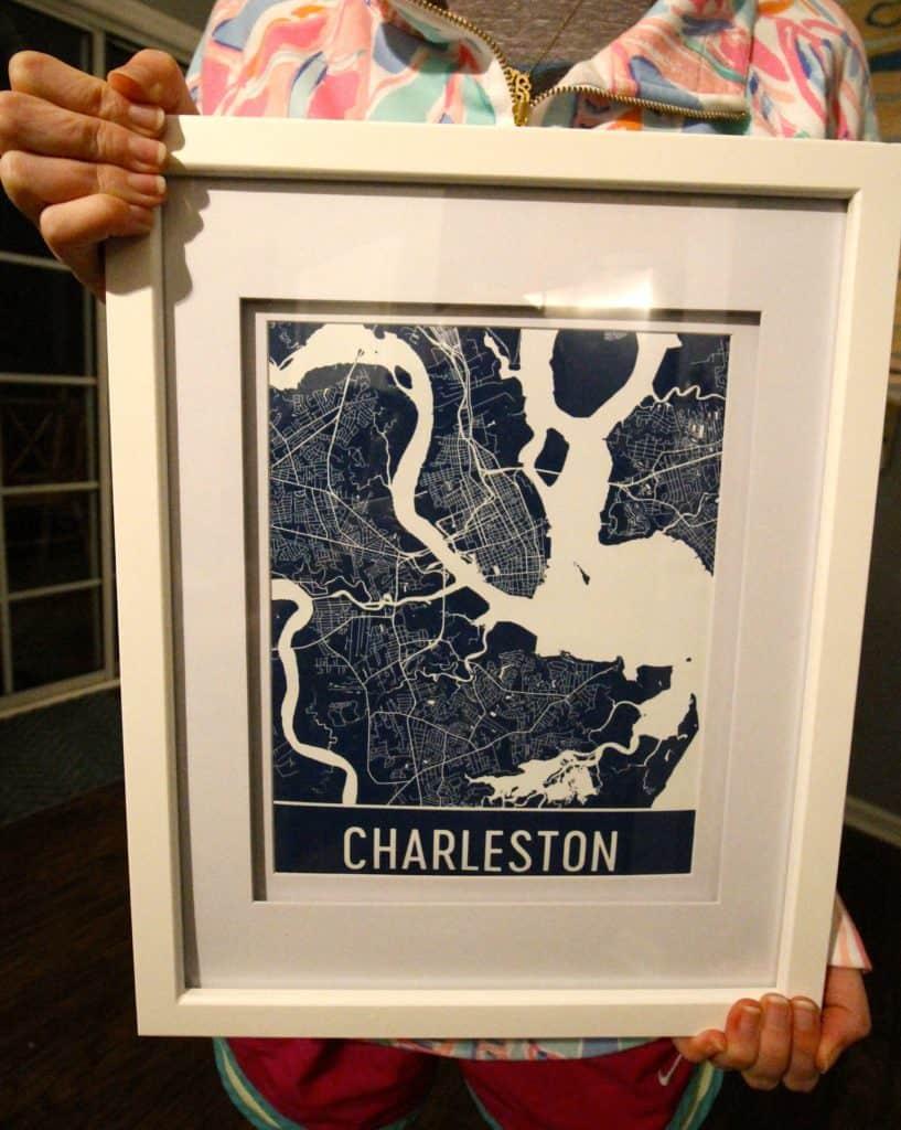 Charleston Map Art - Charleston Crafted