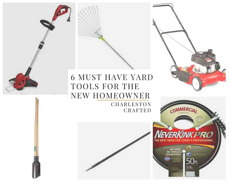 6 MUST HAVE yard tools for the new homeowner