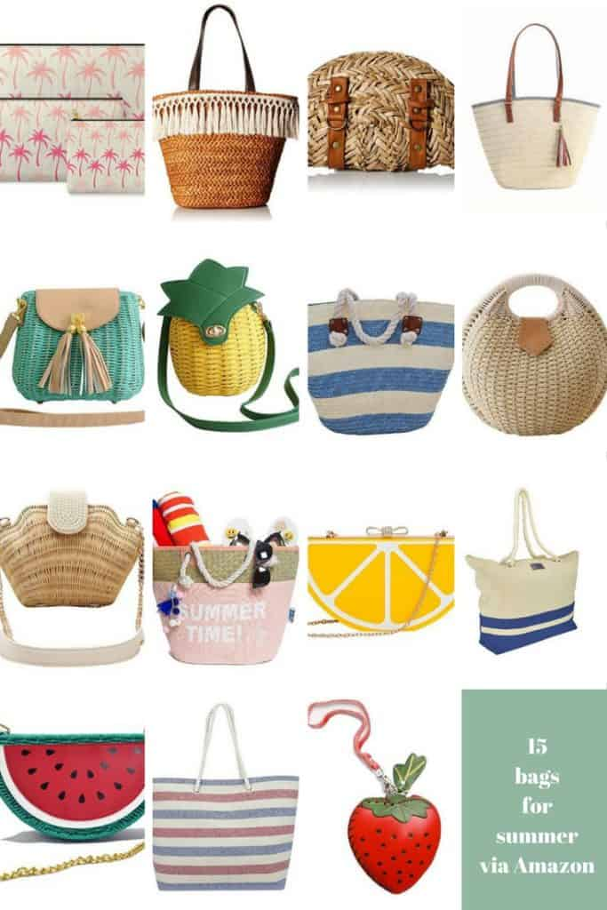 15 Adorable Summer Bags via Amazon - Charleston Crafted