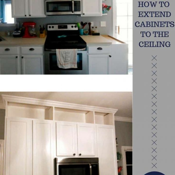 Extend Kitchen Cabinets To The Ceiling