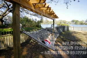 How to Build a DIY Wooden Hammock Stand with a Pergola – FREE PDF Plans!