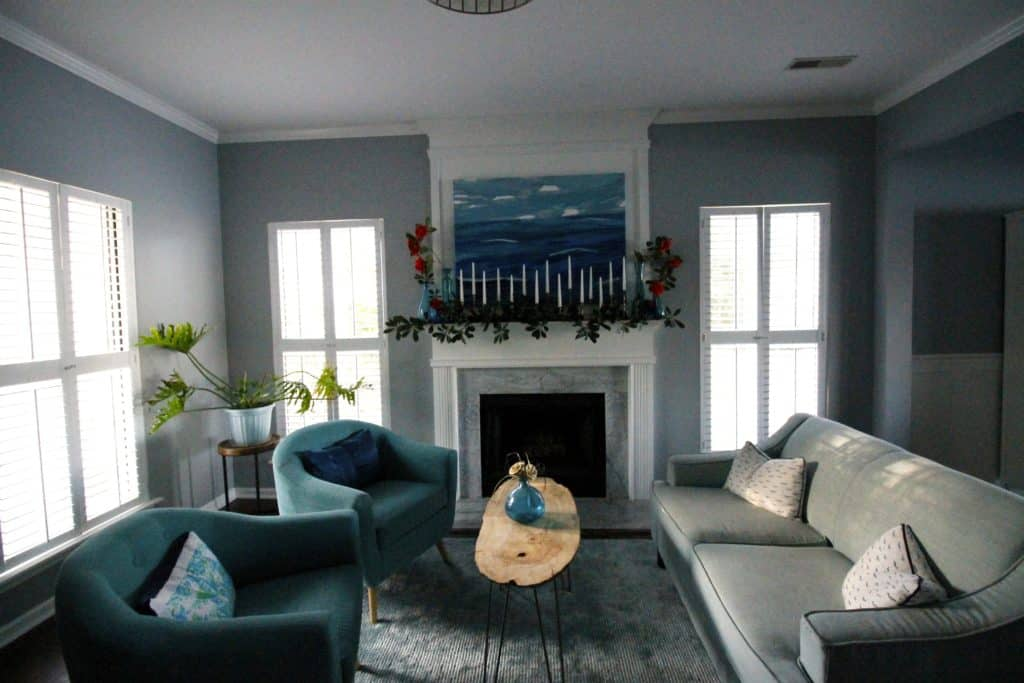 Our Spring Mantle - Charleston Crafted