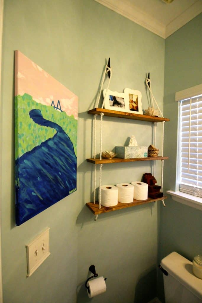 DIY Painting Landscapes for the $100 Room Challenge - Charleston Crafted