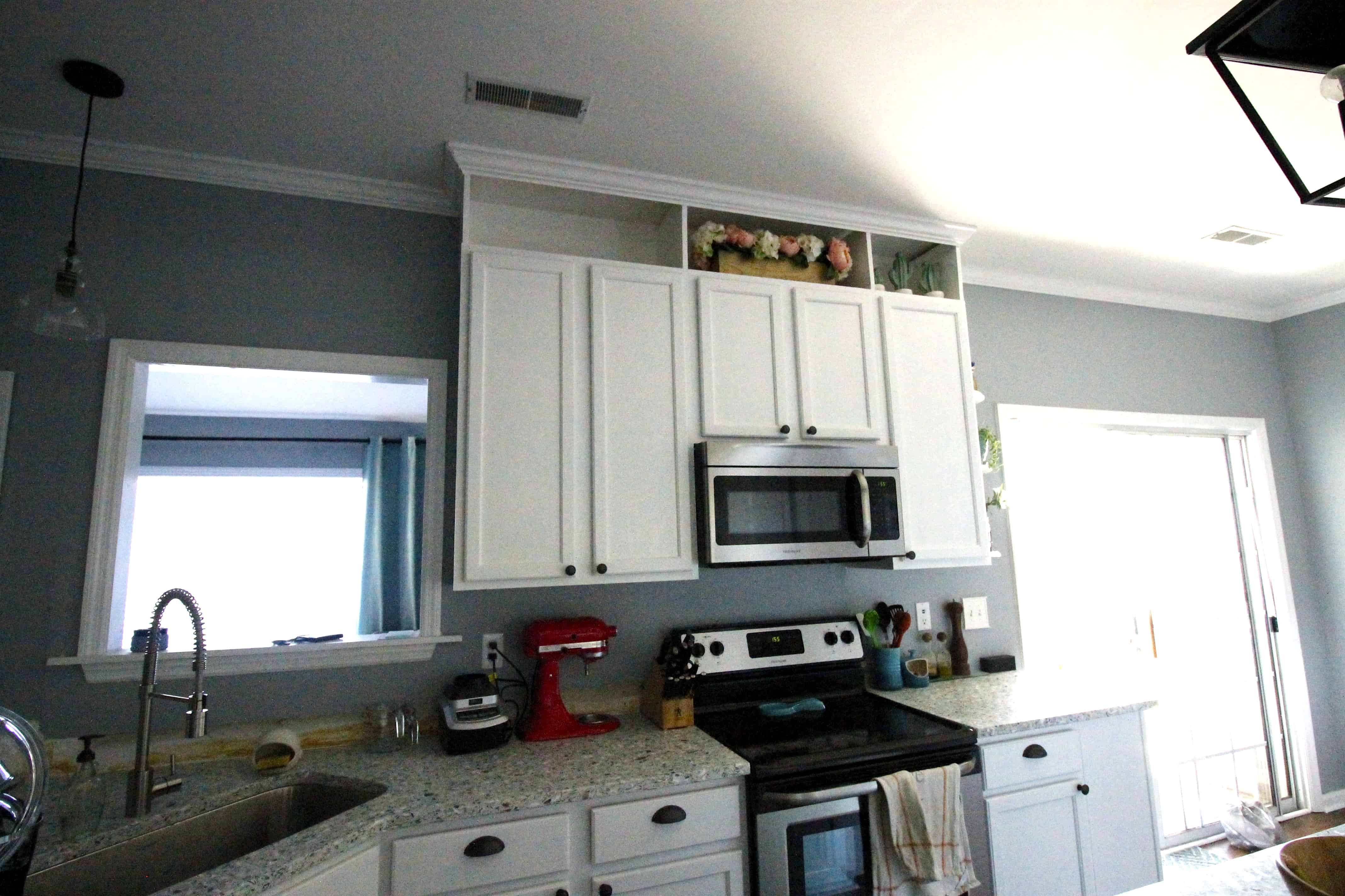How To Extend Kitchen Cabinets The Ceiling Charleston Crafted