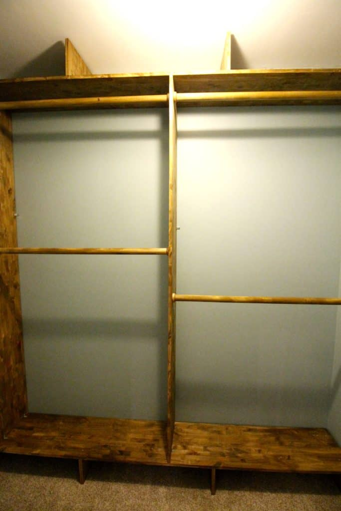 ORC: How to Build a Custom Wooden Closet System - Charleston Crafted