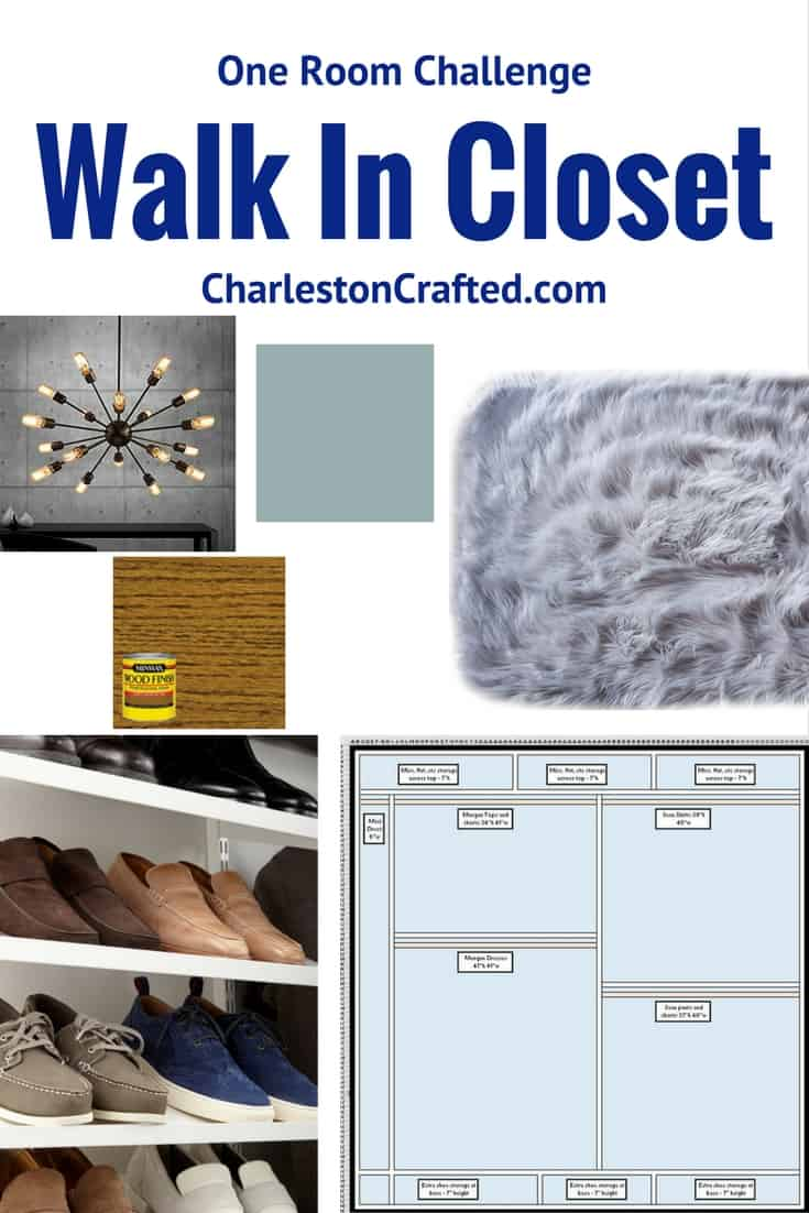 One Room Challenge Week 1: Master Closet Design Plan