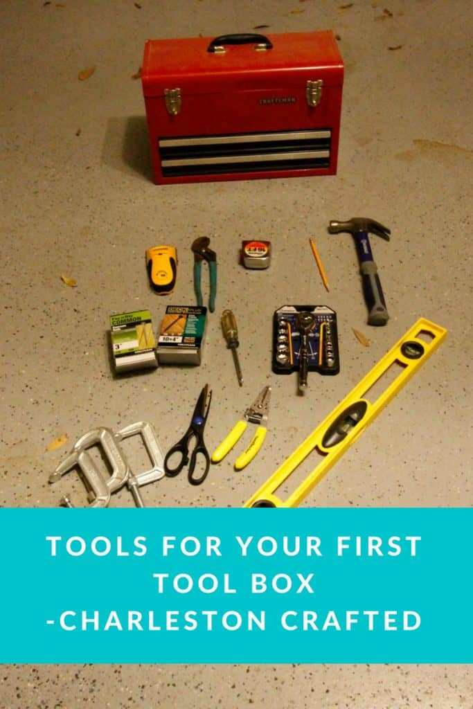 Tools for your first tool box-Charleston Crafted