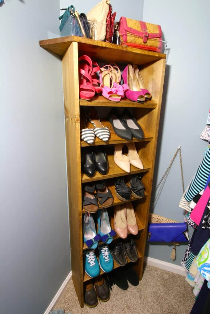 ORC: Custom Wooden Shoe & Handbag Storage - Charleston Crafted