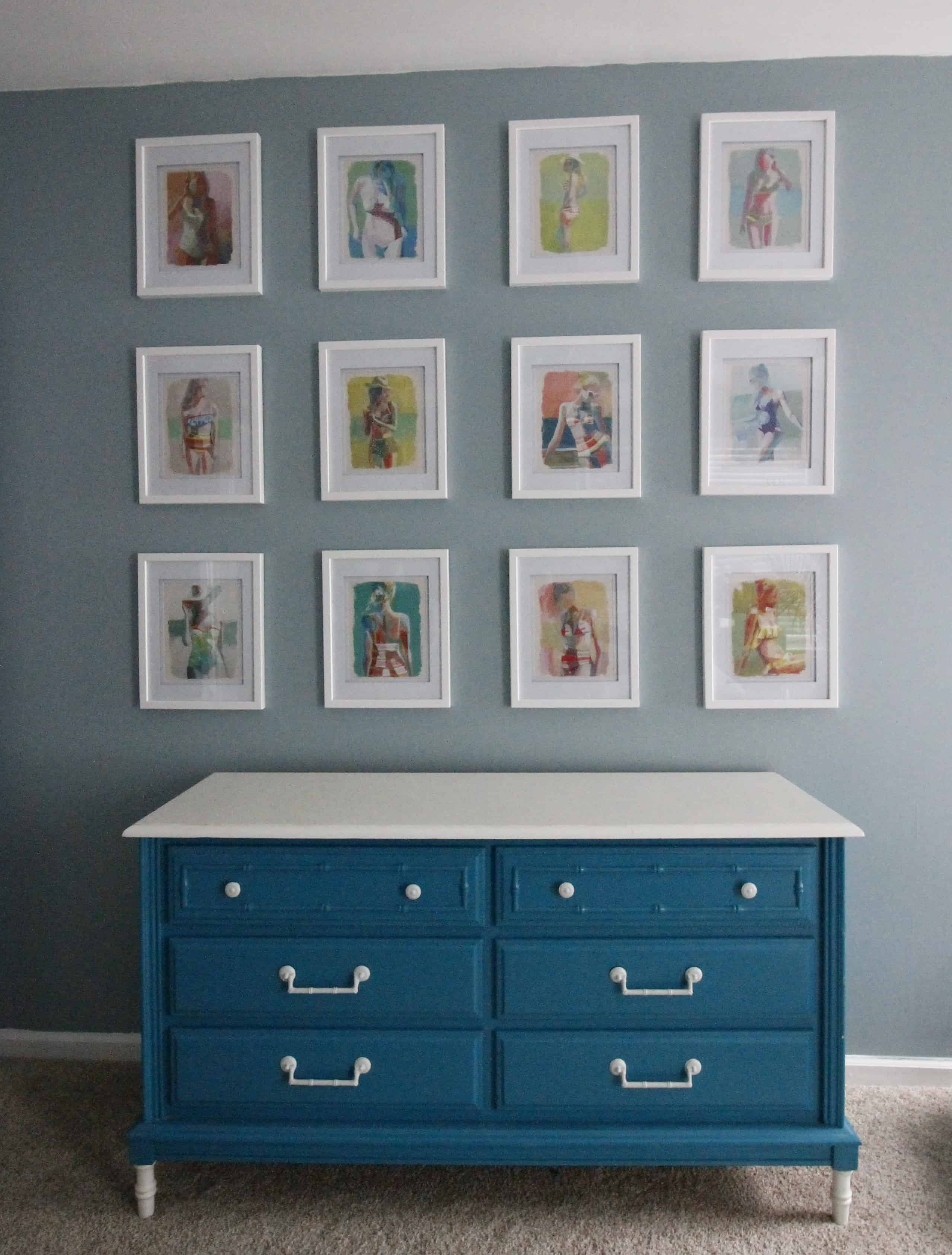 My Favorite Source for Inexpensive Gallery Wall Art - Calendars! Charleston Crafted