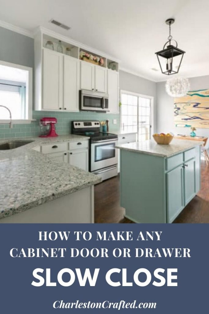 how to make any cabinet door or drawer slow close