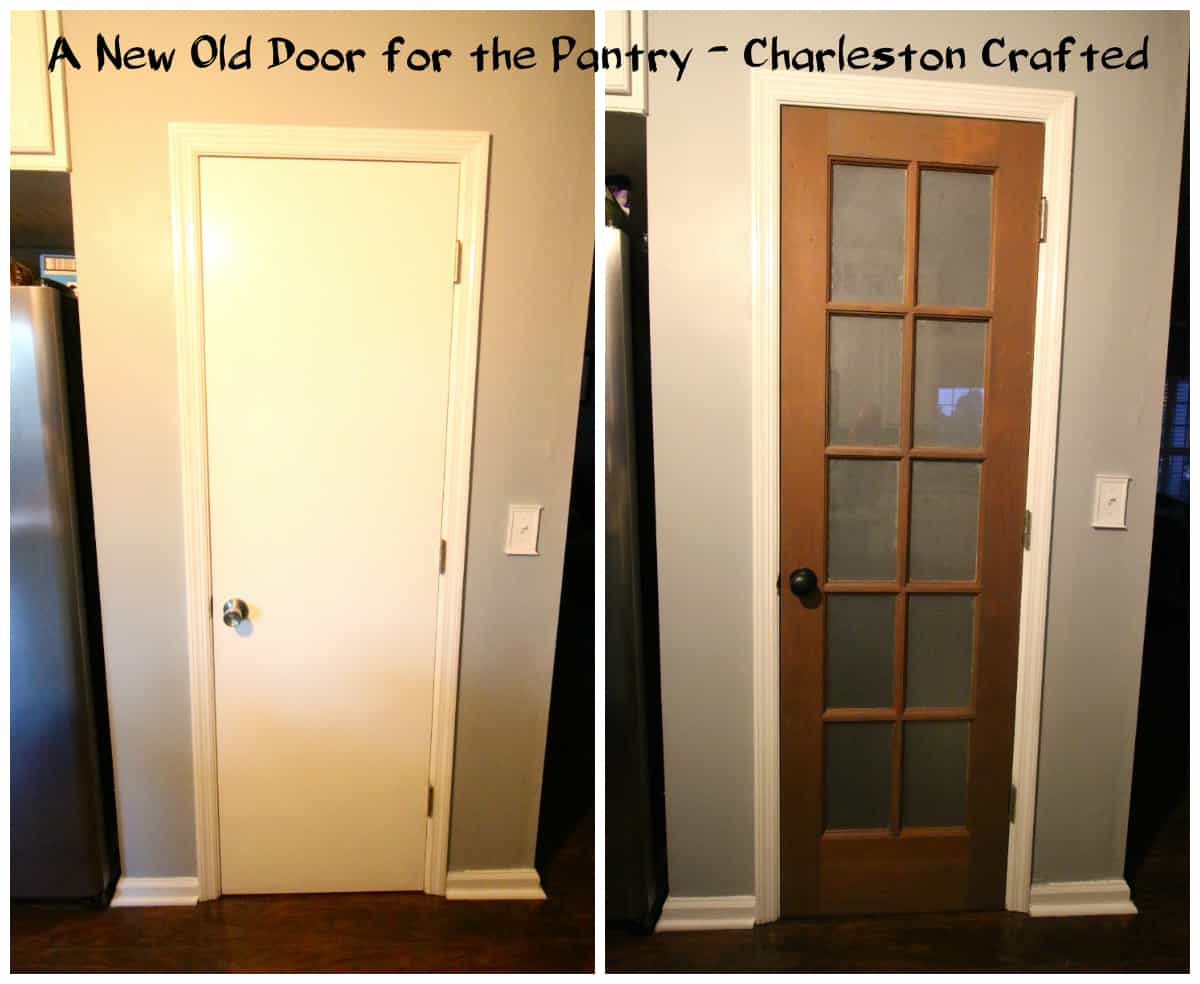 A New Old Door for the Pantry - Charleston Crafted