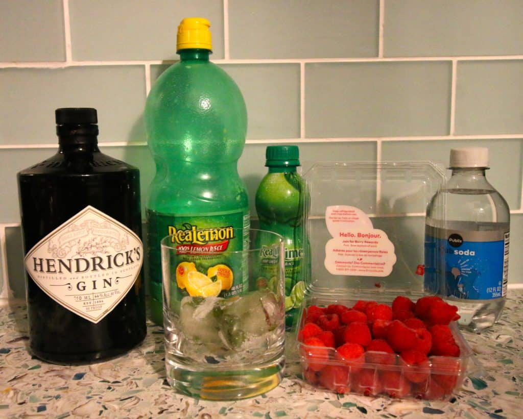 Raspberry Gin Smash Cocktail Recipe - Charleston Crafted