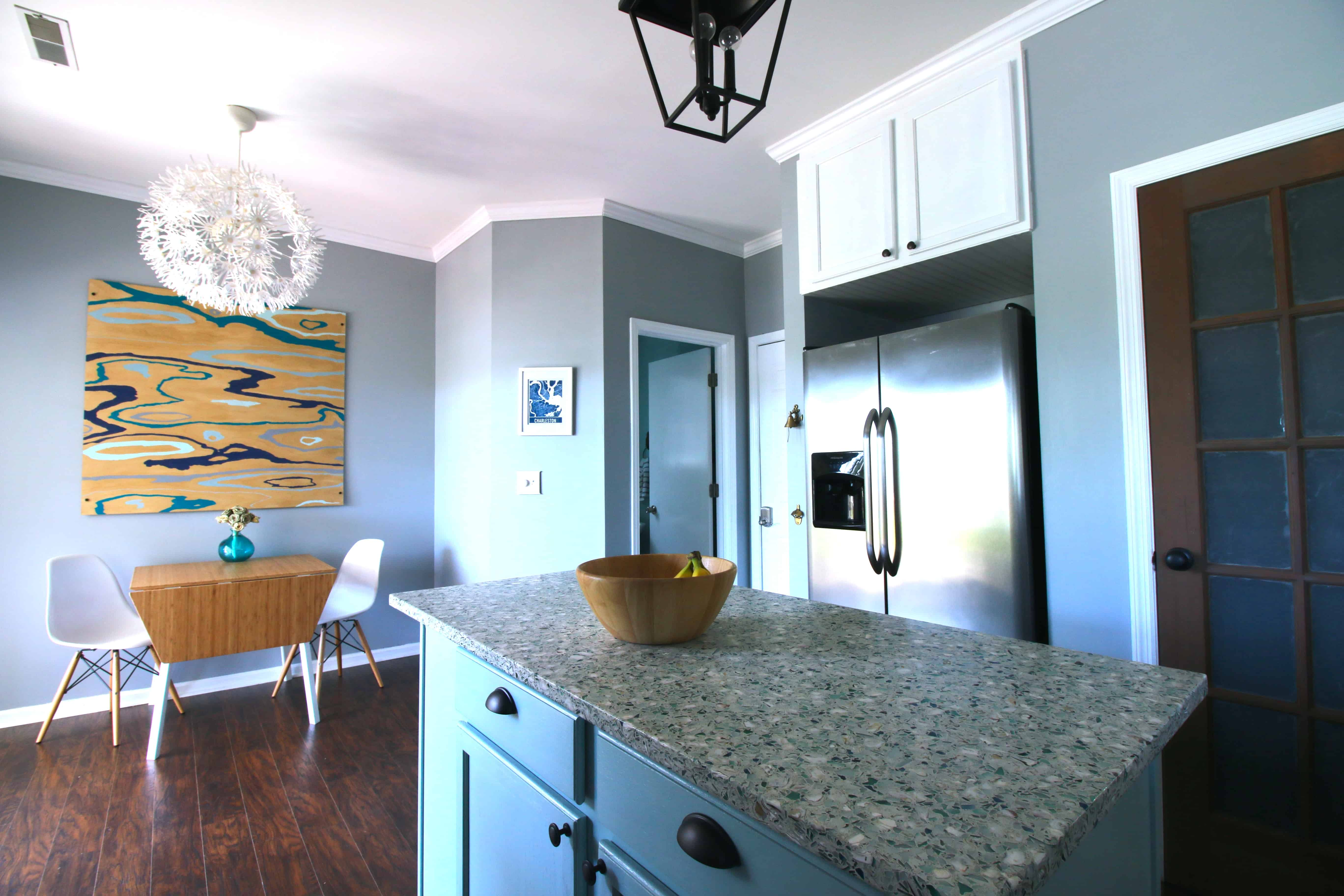 Our DIY Coastal Kitchen Reveal! • Charleston Crafted