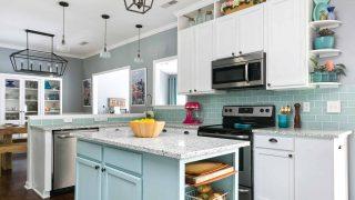 Our DIY Coastal Kitchen Reveal!