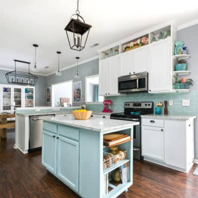 Our Kitchen for Charleston Home & Design Magazine
