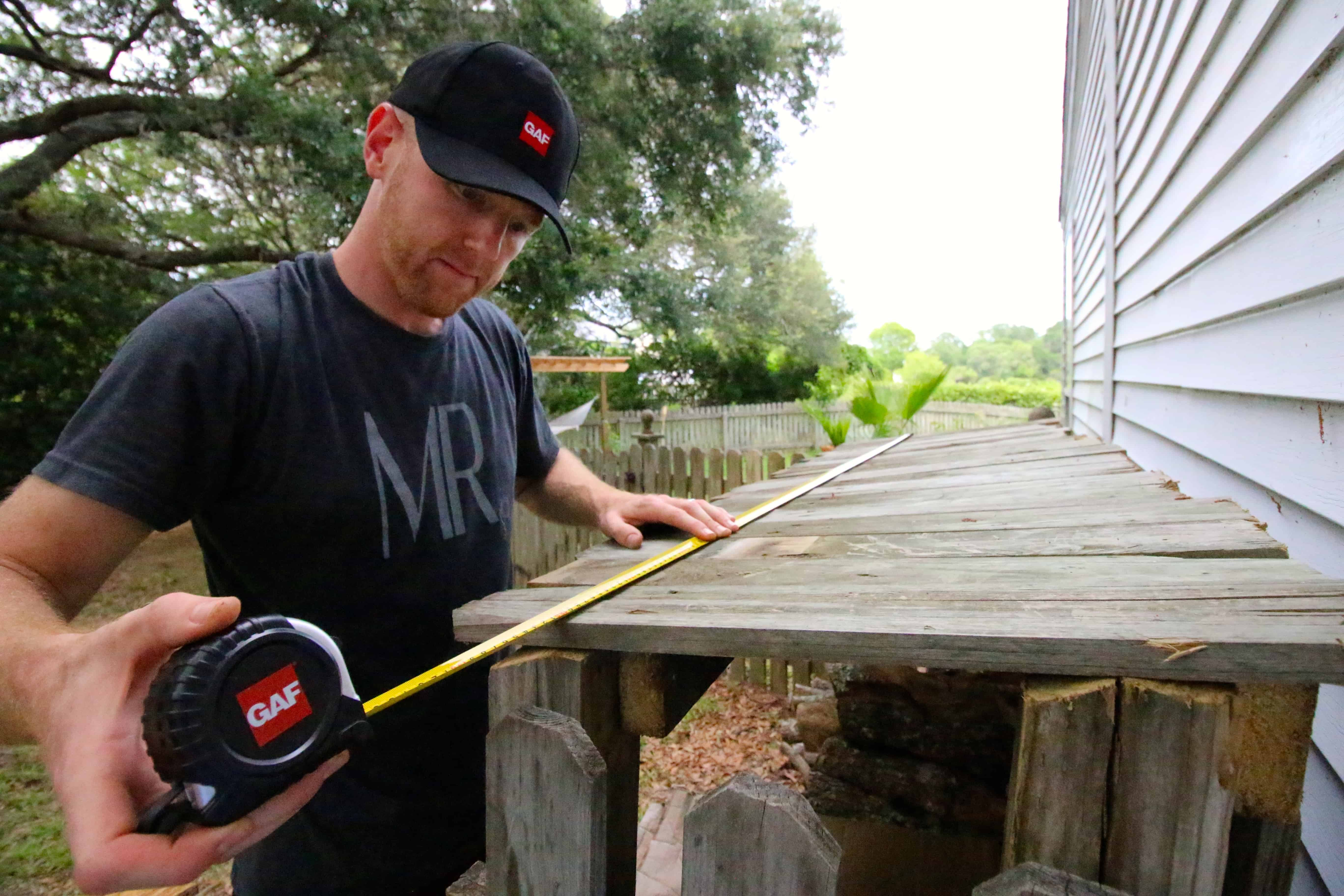 How to DIY Shingle a Wood Shed Roof - Charleston Crafted