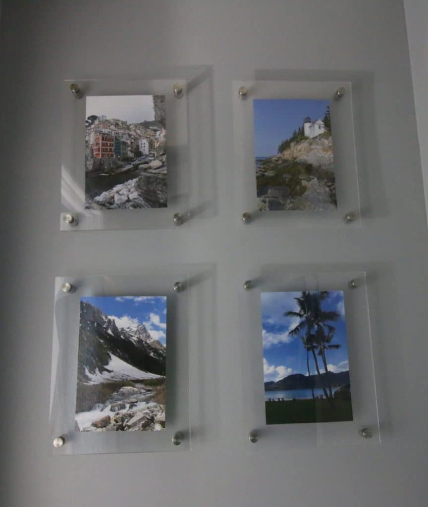 DIY Knock Off Wall Mounted Acrylic Frame Gallery Wall - Charleston Crafted
