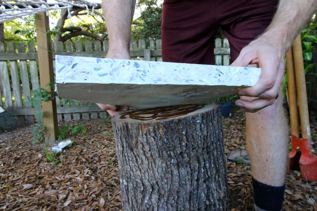 DIY Outdoor Hammock Side Table - Charleston Crafted