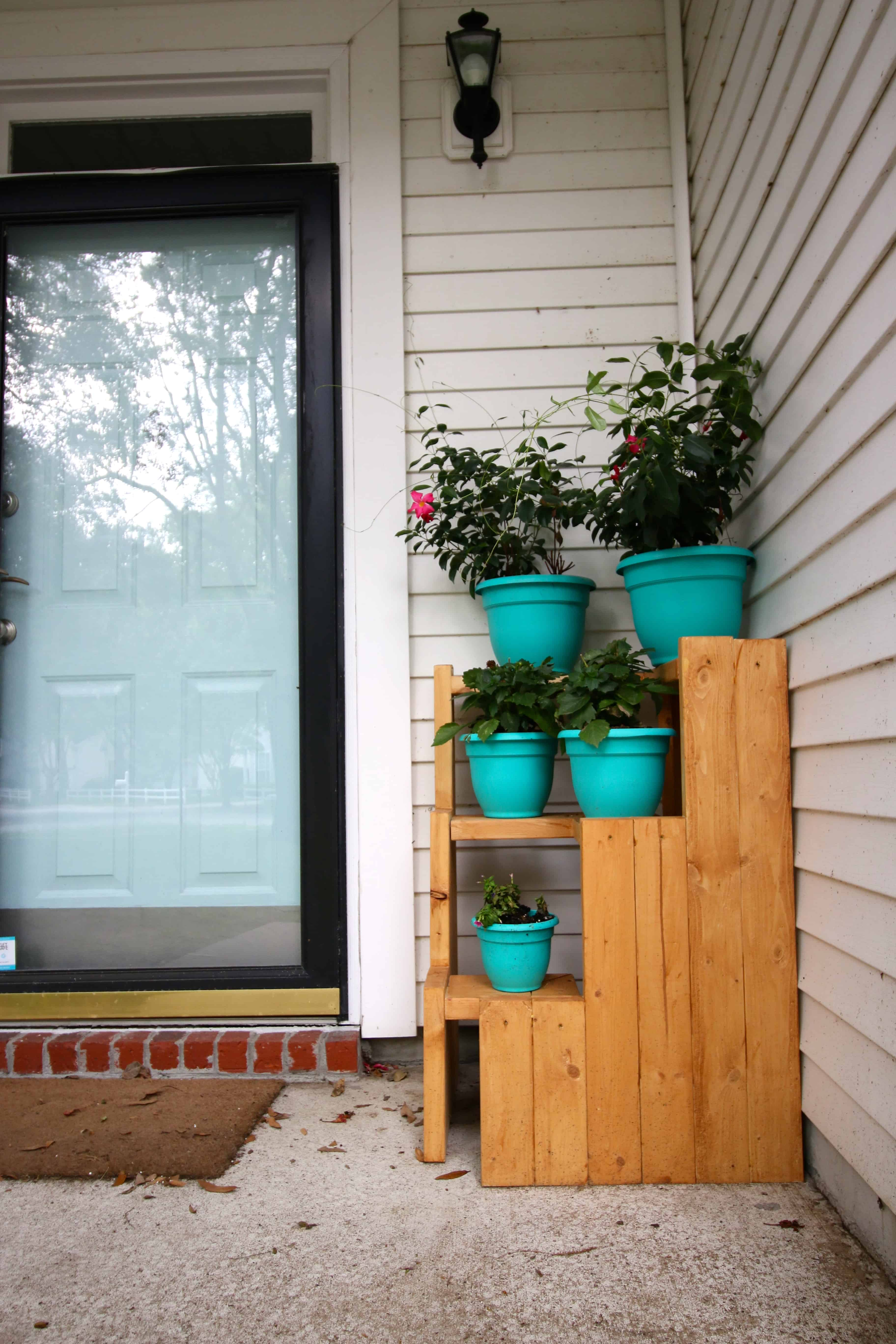 Diy 3 Tiered Corner Plant Stand Charleston Crafted