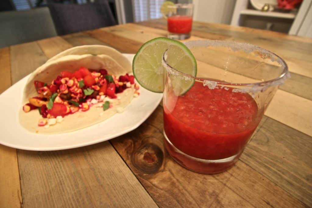 Frozen Watermelon Margaritas - Charleston Crafted