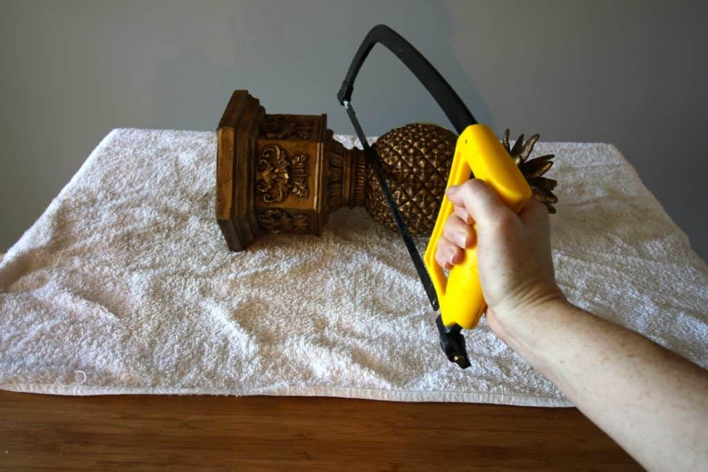 Thrift Flip: Pineapple Clock Makeover - Charleston Crafted