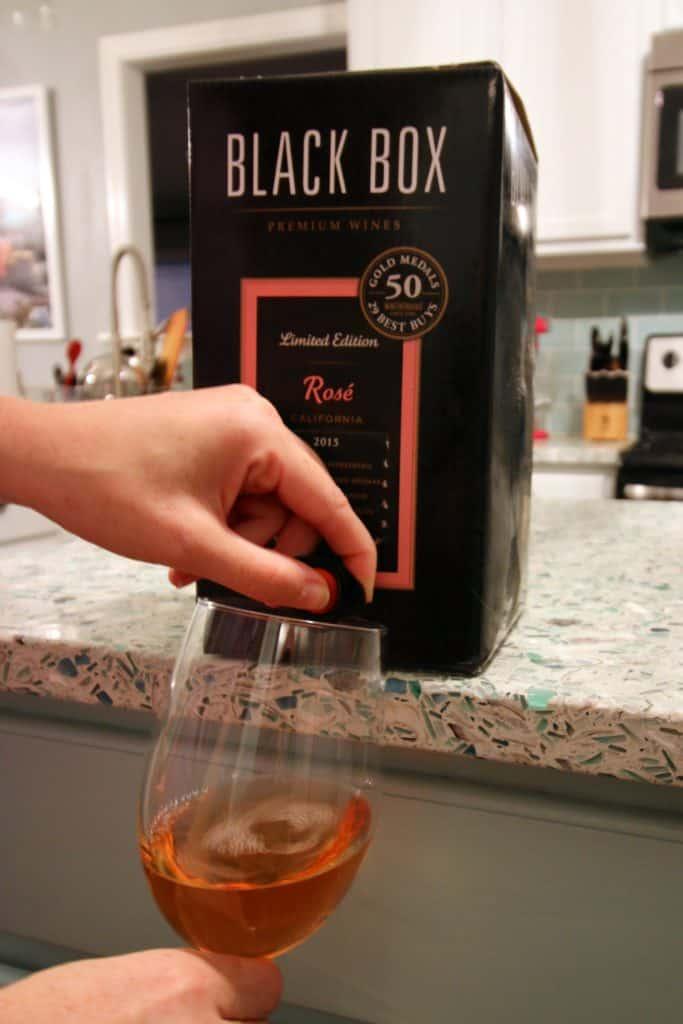 Black Box Rose Wine Review - Charleston Crafted
