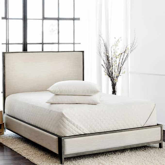 brentwood bed - Gorgeous Living Room Furniture that you wouldn't believe came from COSTCO! via Charleston Crafted