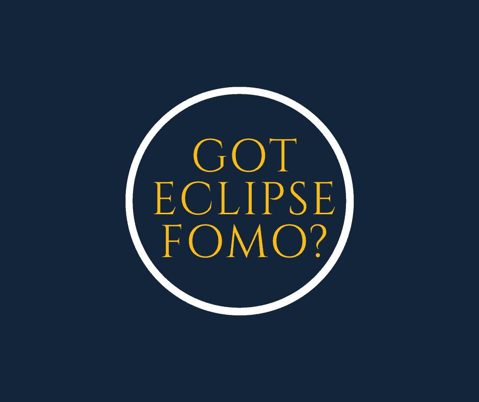 Got Eclipse FOMO? via Charleston Crafted