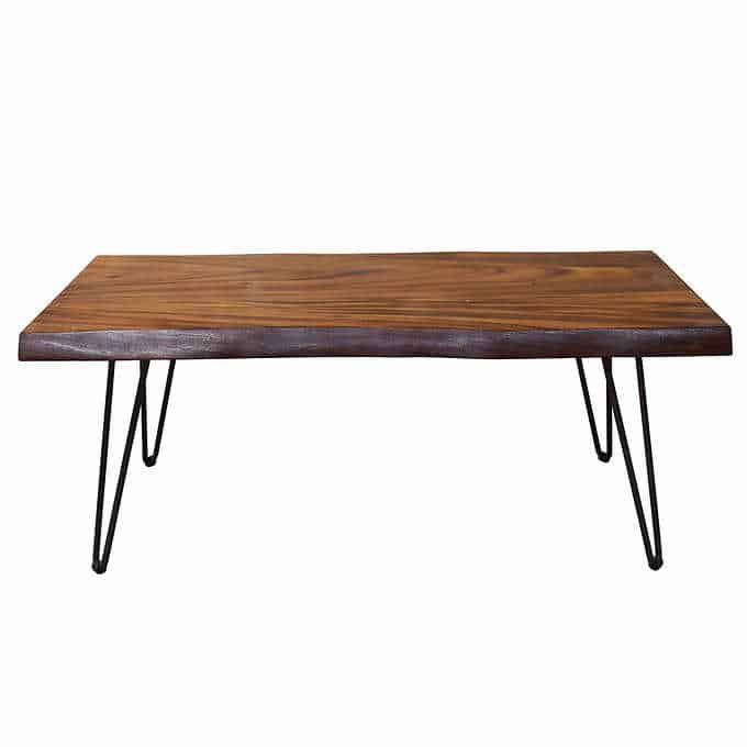 north shore coffee table - Gorgeous Living Room Furniture that you wouldn't believe came from COSTCO! via Charleston Crafted