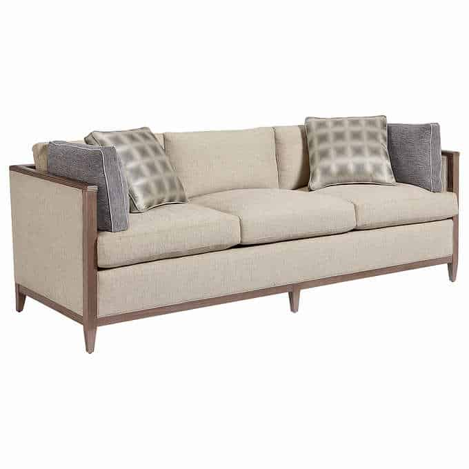 carlson living room set - Gorgeous Living Room Furniture that you wouldn't believe came from COSTCO! via Charleston Crafted