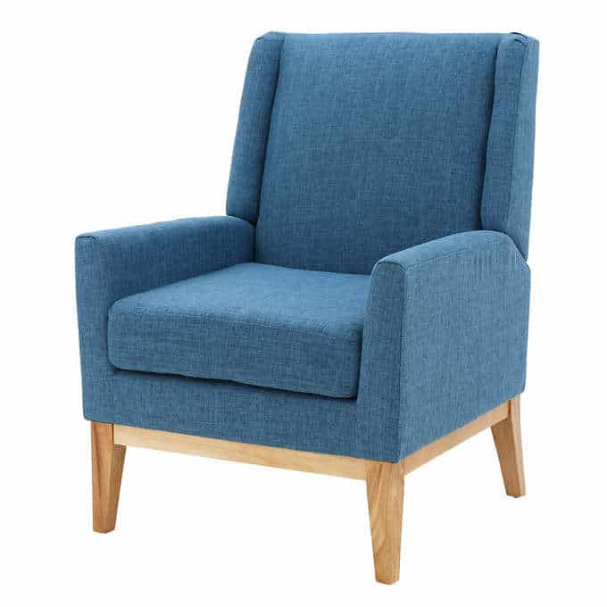 the crosby chair - Gorgeous Living Room Furniture that you wouldn't believe came from COSTCO! via Charleston Crafted