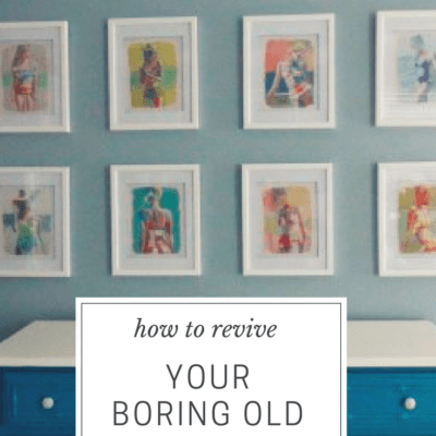 Tips to Update a Gallery Wall