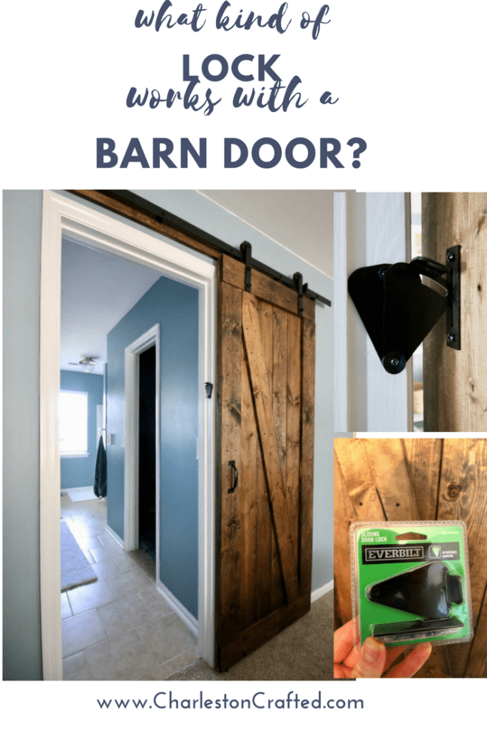 what kind of lock works with a barn door? Charleston Crafted