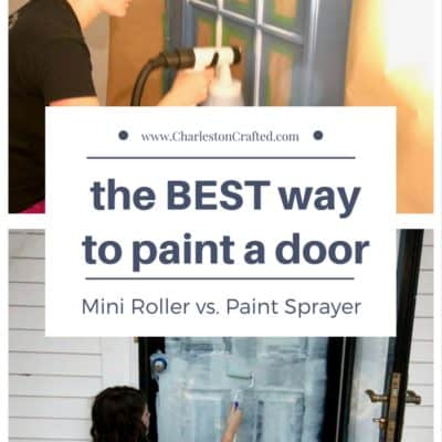 What's the Easiest way to Paint a Door: Roller or Sprayer?