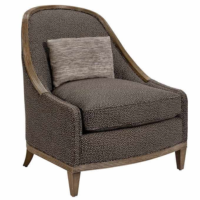 york slipper chair - Gorgeous Living Room Furniture that you wouldn't believe came from COSTCO! via Charleston Crafted