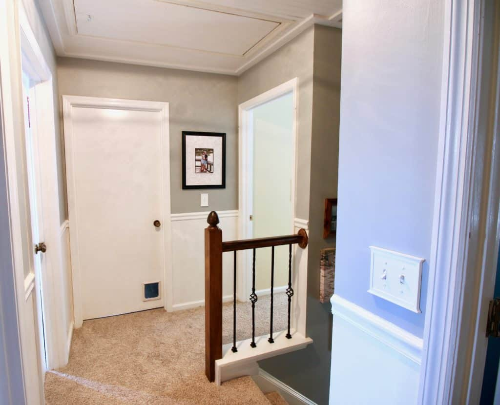 $100 Challenge: Hallway Makeover Final Reveal