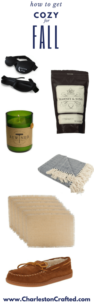 My Favorite Ways to get Cozy for Fall via Charleston Crafted
