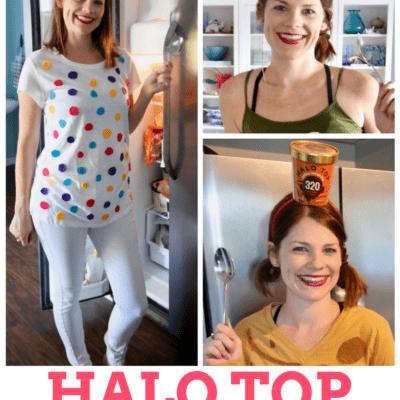 DIY Group Costume Idea: Halo Top Ice Cream
