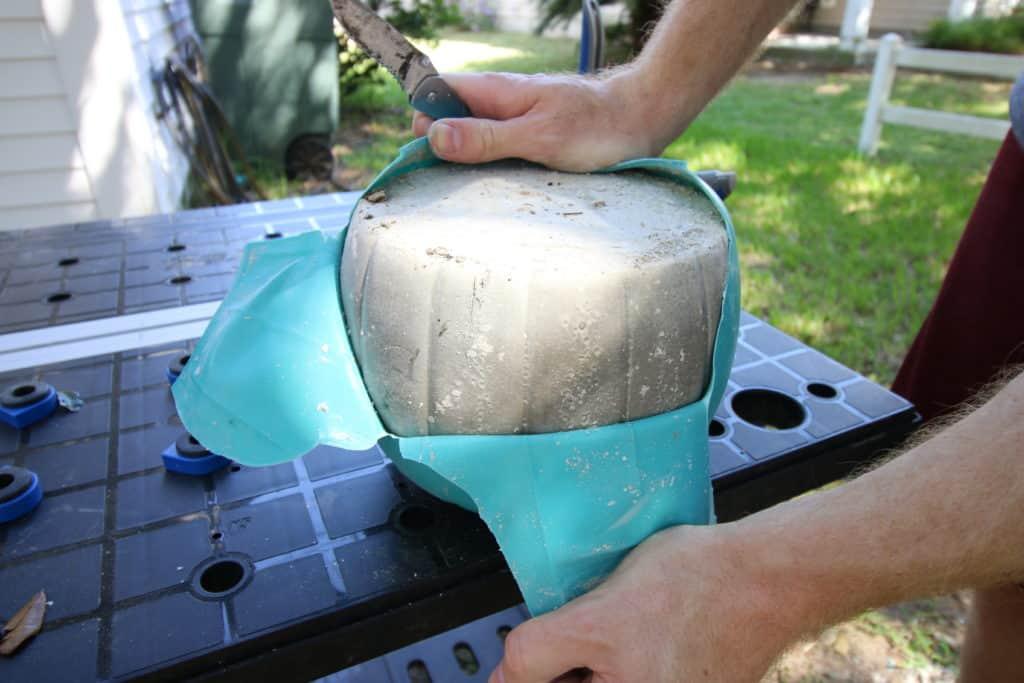 How to Make DIY Concrete Pumpkins via Charleston Crafted