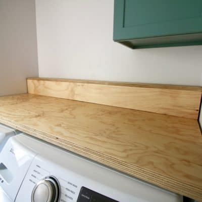 Easiest DIY Plywood Countertop