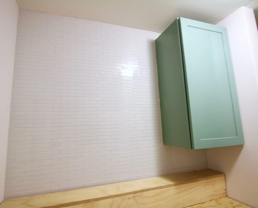 ORC: How to Hang a Peel & Stick Aspect Tile Accent Wall via Charleston Crafted