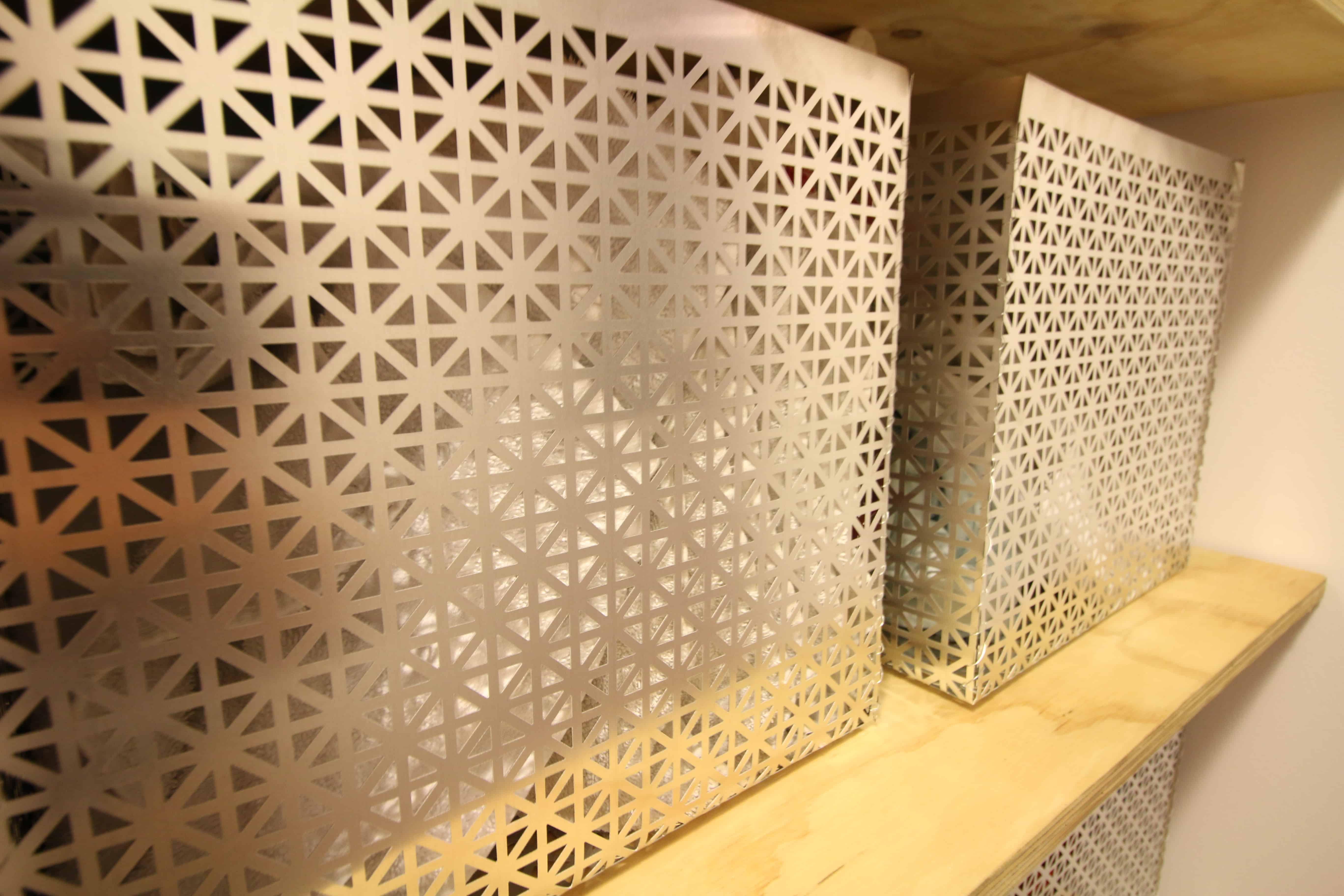 DIY Metal Storage Bins via Charleston Crafted