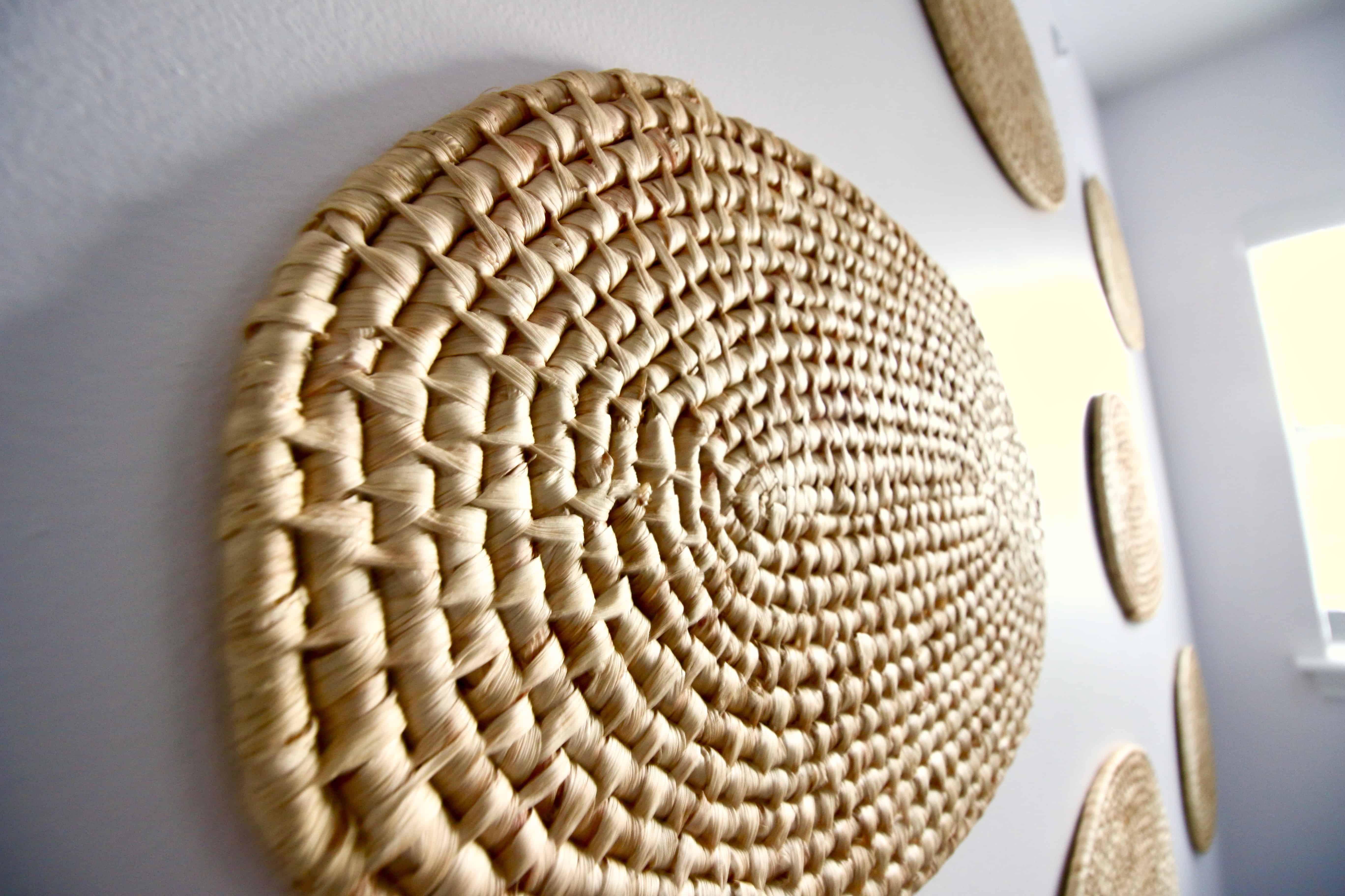 DIY Woven Wall Hanging Display via Charleston Crafted