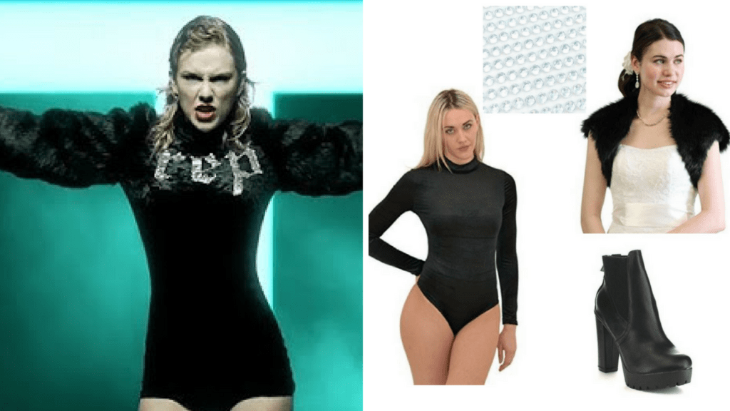 9 Look What You Made Me Do Taylor Swift DIY Halloween Costumes Pyramid via Charleston Crafted