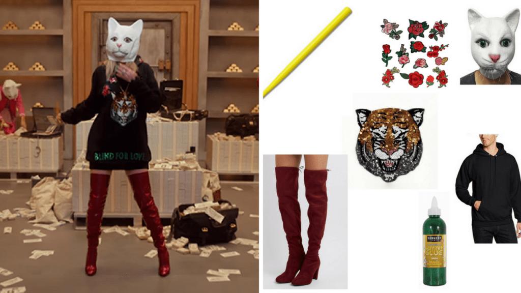 9 Look What You Made Me Do Taylor Swift DIY Halloween Costumes Vault Cat Burglar via Charleston Crafted