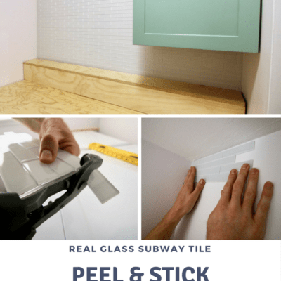 How to Hang a Peel & Stick Aspect Tile Accent Wall